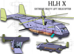 HLH X Extreme Heavy Lift Helicopter