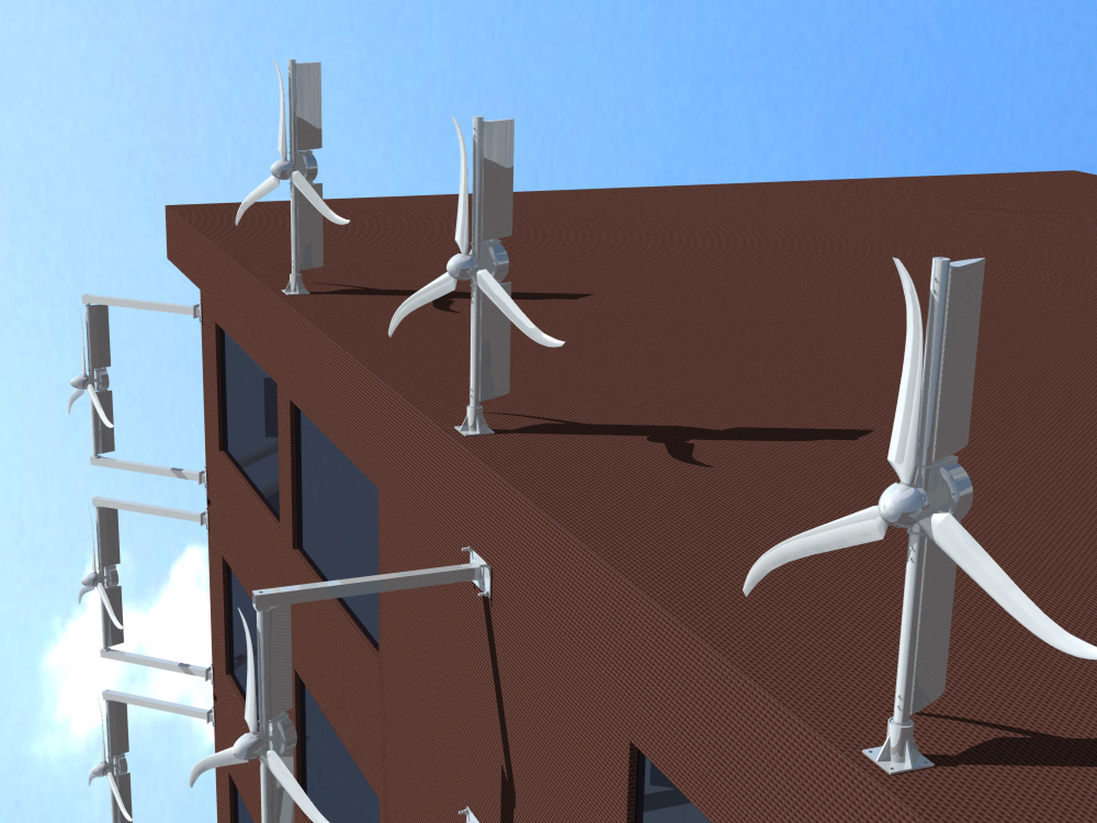 Small Wind Turbines Mounted to Existing Structures, M.S. Thesis Urban ...